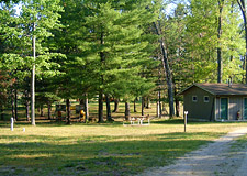 campgrounds on the manistee river