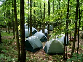 campgrounds campsite