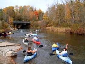Manistee River day trips