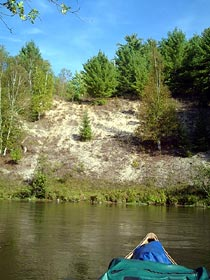 canoe rentals on the Manistee River